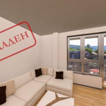 3-стаен апартамент с панорамни гледки към Витоша и центъра на град София.