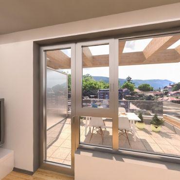 3-стаен апартамент с панорамни гледки към Витоша и центъра на град София - Louis Eyer Residence.