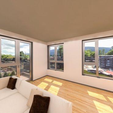 Просторен 4-стаен апартамент с панорамни гледки към Витоша, изгряваща София и центъра на града - Louis Eyer Residence.